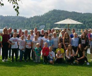 Großteil der Reisegruppe